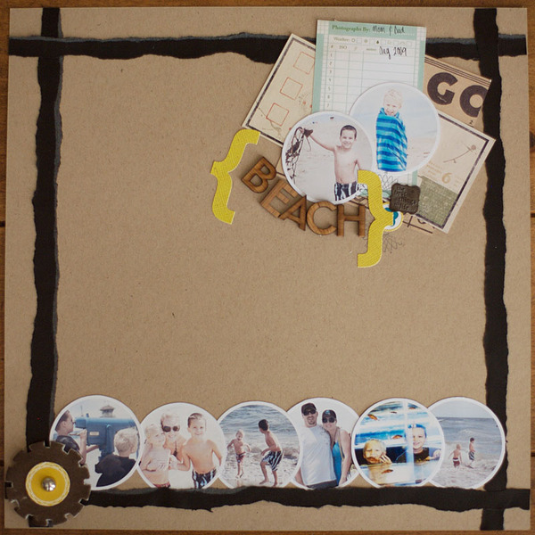 New layouts! | Scrapbooking again