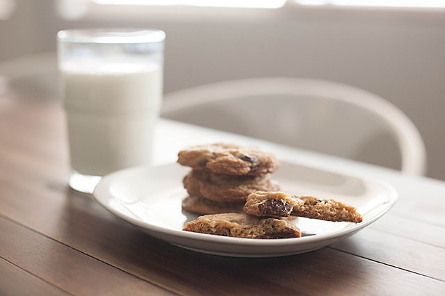 Chewy GF Chocolate Chip Cookies