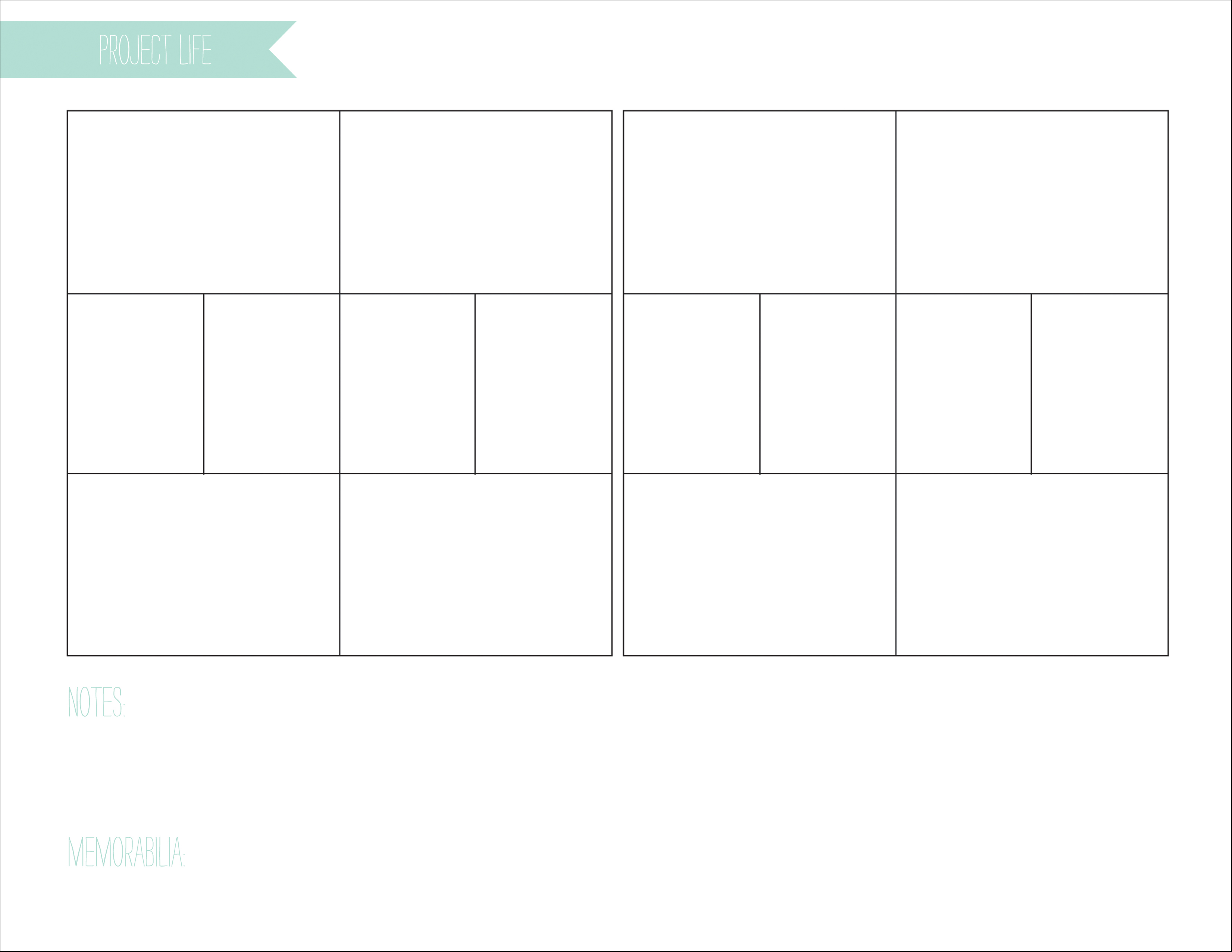 iphoto calendar templates - project life planning all for the memories