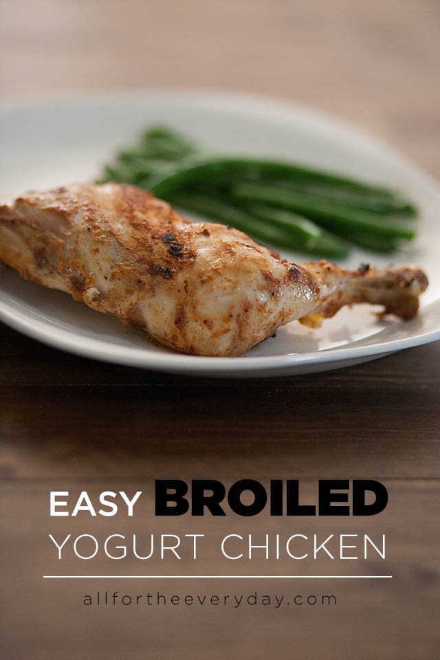 Easy Broiled Yogurt Chicken Recipe