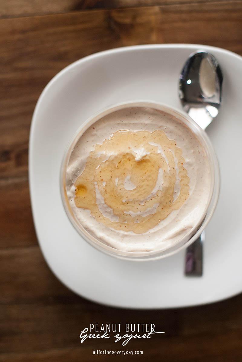 Peanut Butter Greek Yogurt