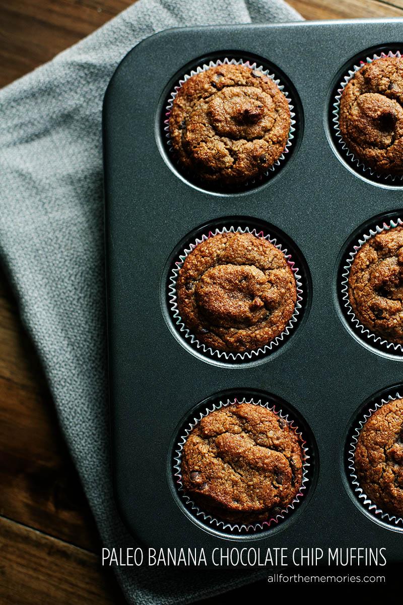 Paleo (Gluten Free) Banana Muffins