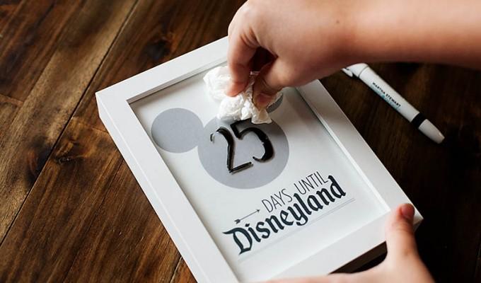 Disney Vacation Printable Countdown