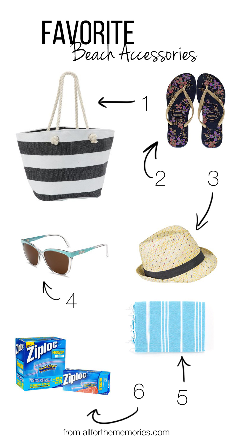 Favorite Beach Accessories