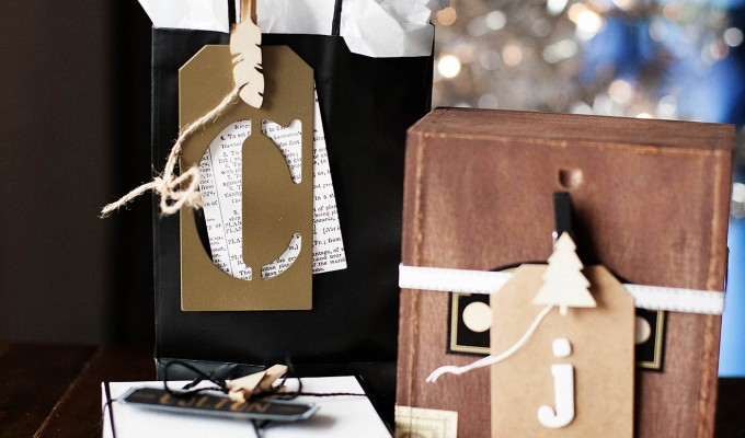 Gift Wrapping with Craft Supplies
