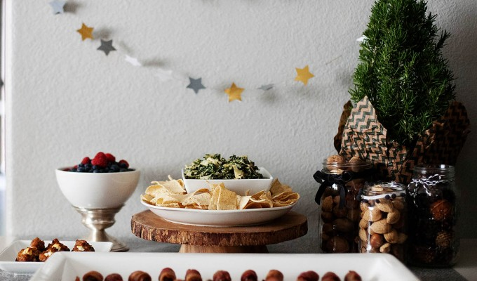 Holiday Appetizer Table with Smart & Final