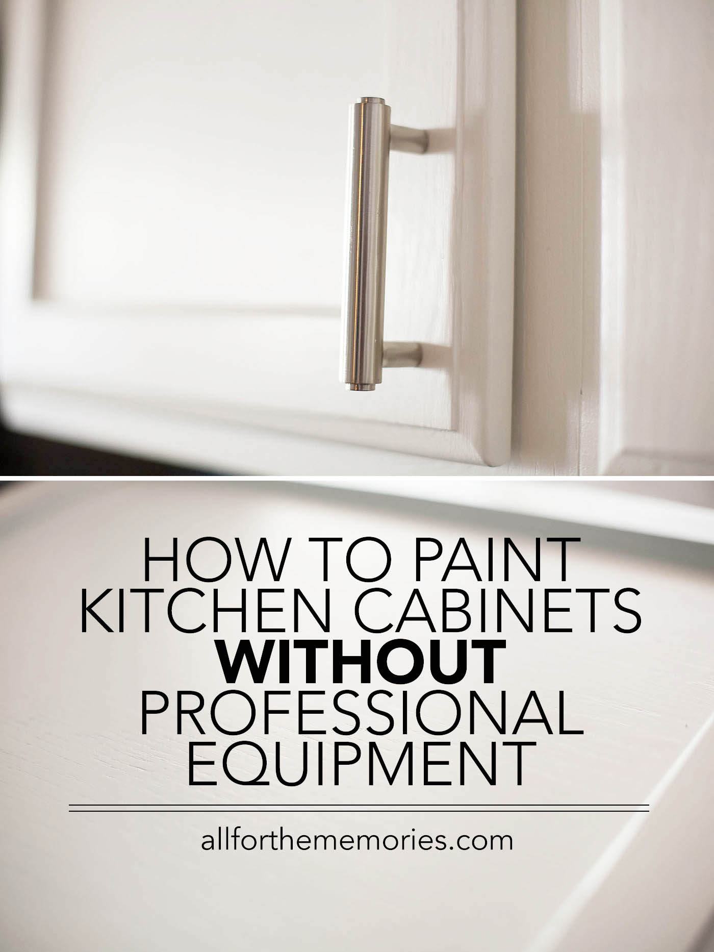 how to paint kitchen cabinets without professional equipment or chalk paint - Professional Painting Kitchen Cabinets