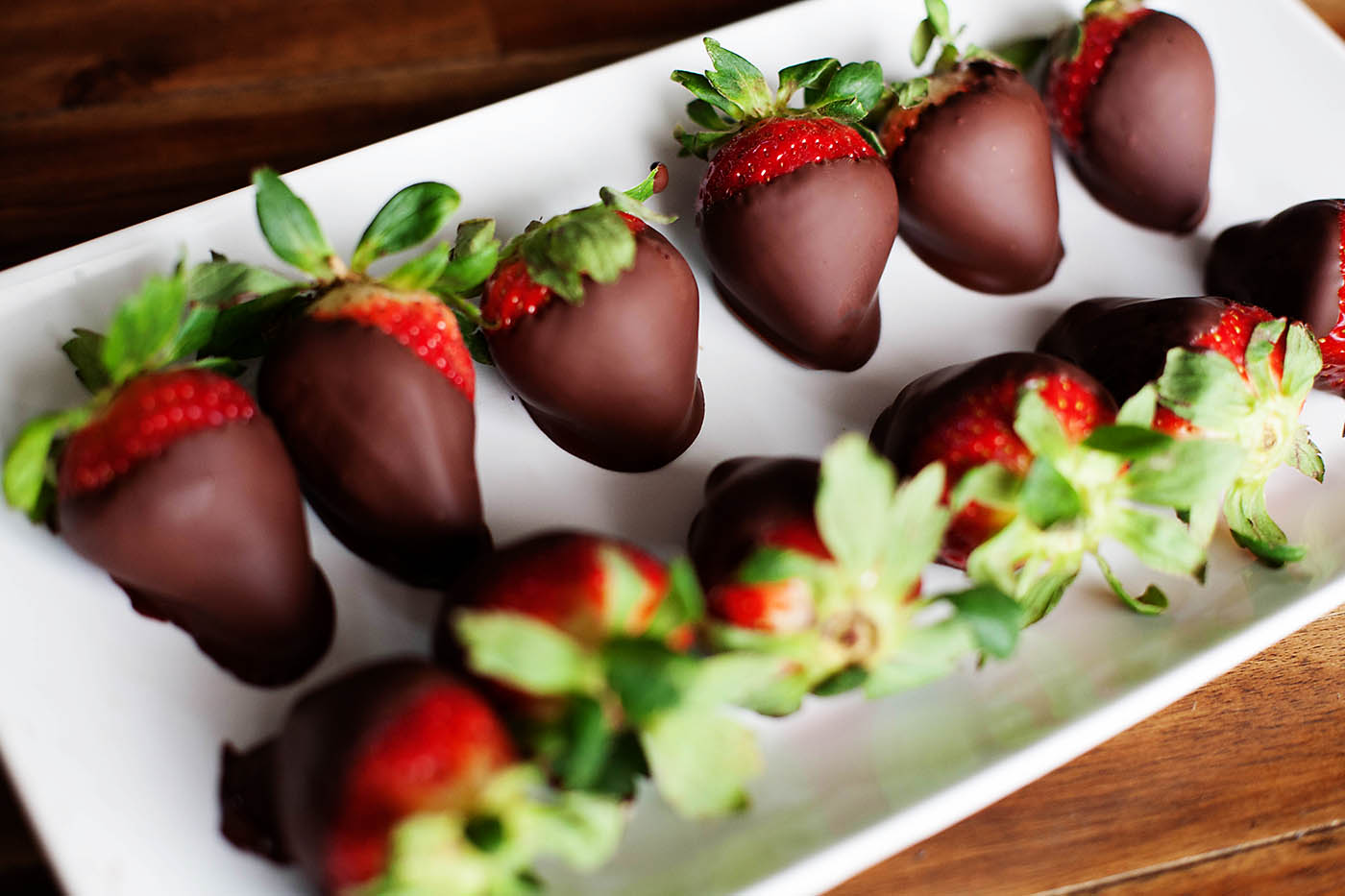 The Easiest Chocolate Covered Strawberries