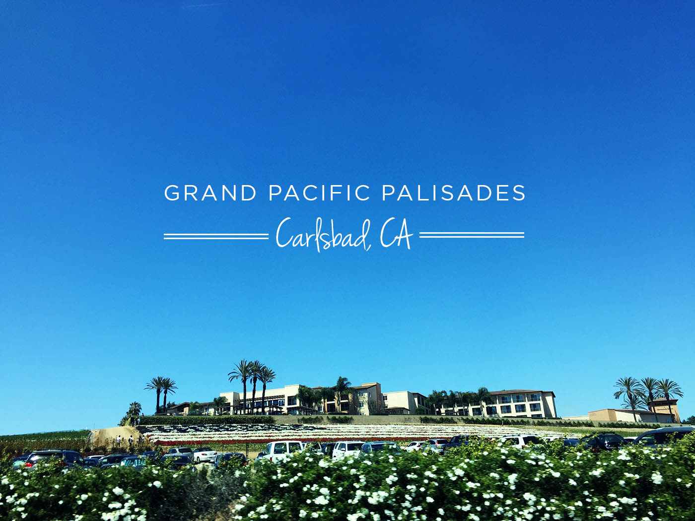 Grand Pacific Palisades + a travel discount from ResorTime