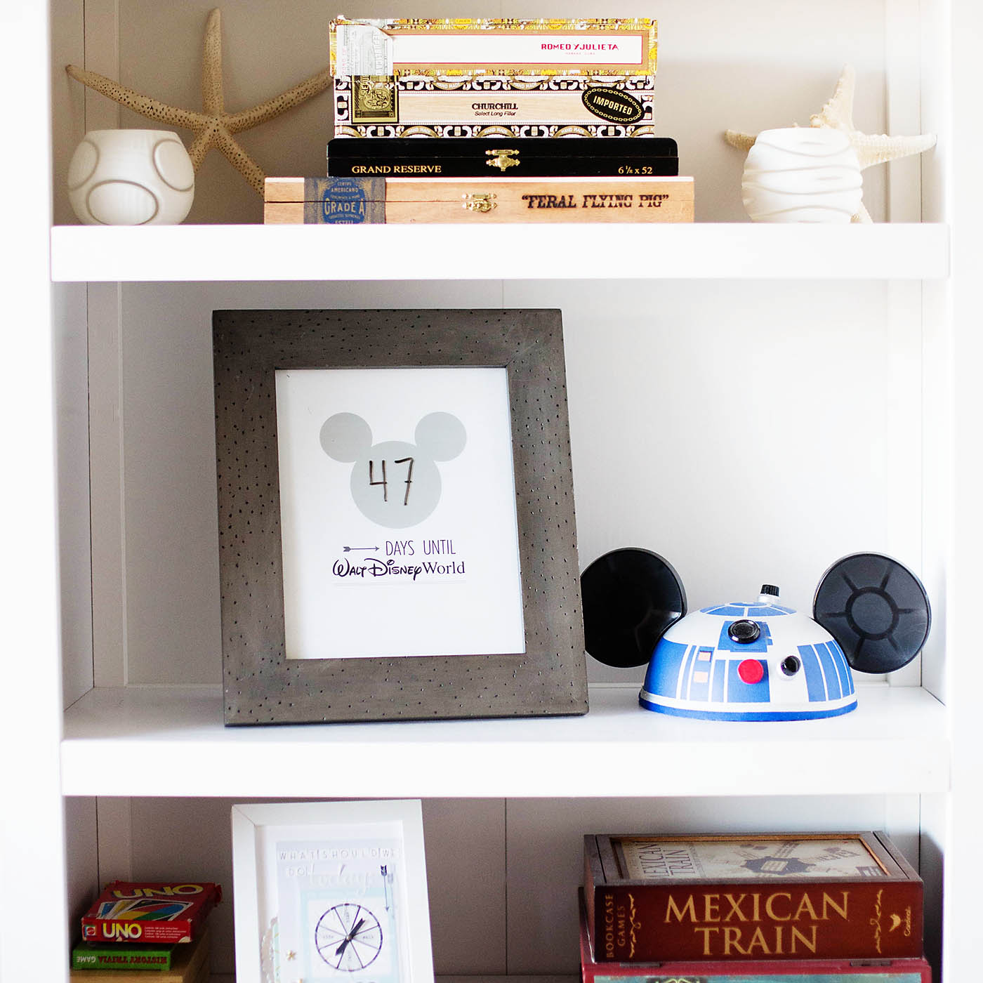 Walt Disney World Countdown! Free printable plus Disneyland and Disney Cruise