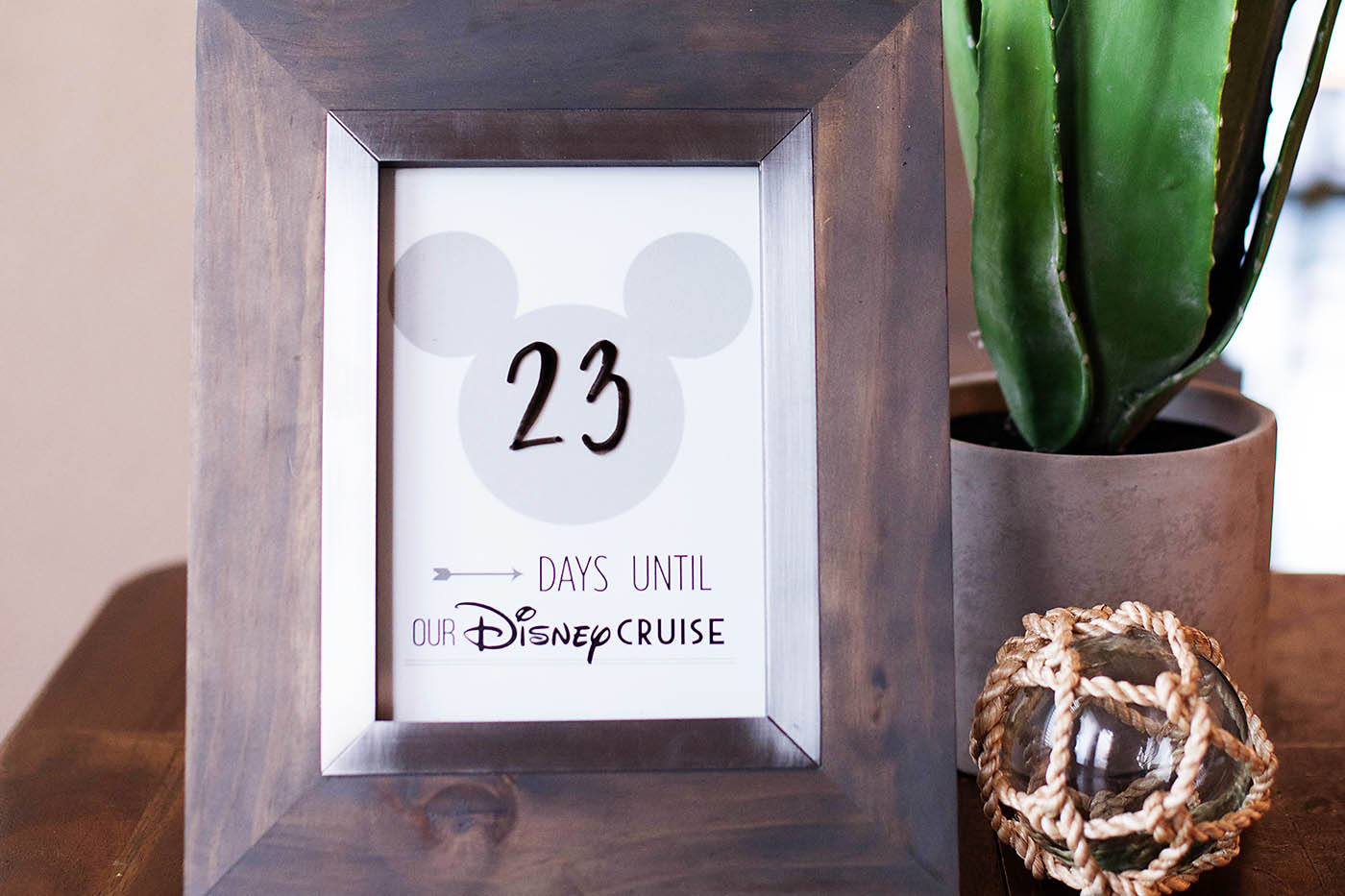 Printable Disney Cruise Countdown