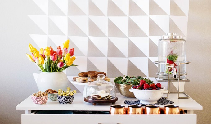 Easy Spring Brunch & Craft Party