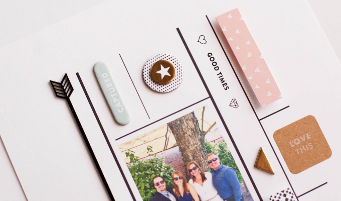 Using Digital Stamps on a Scrapbook Page – Video