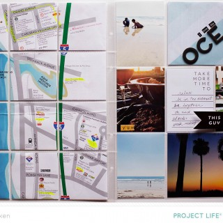 Allison Waken May 2015 Project Life Spread