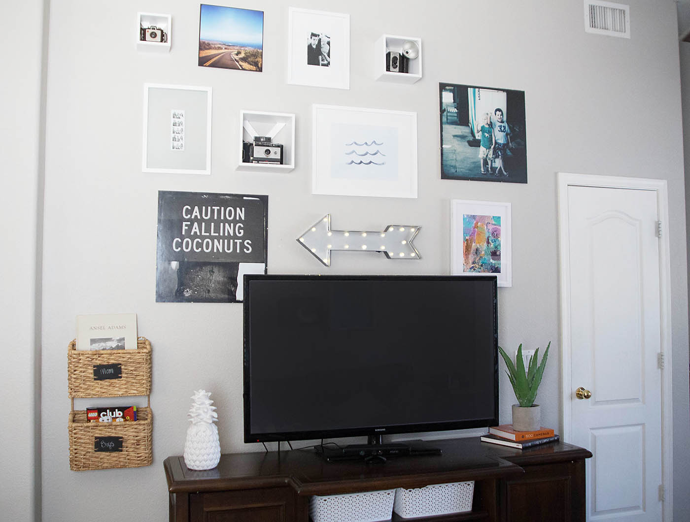 Target $100 Wall Gallery Challenge - All for the Memories