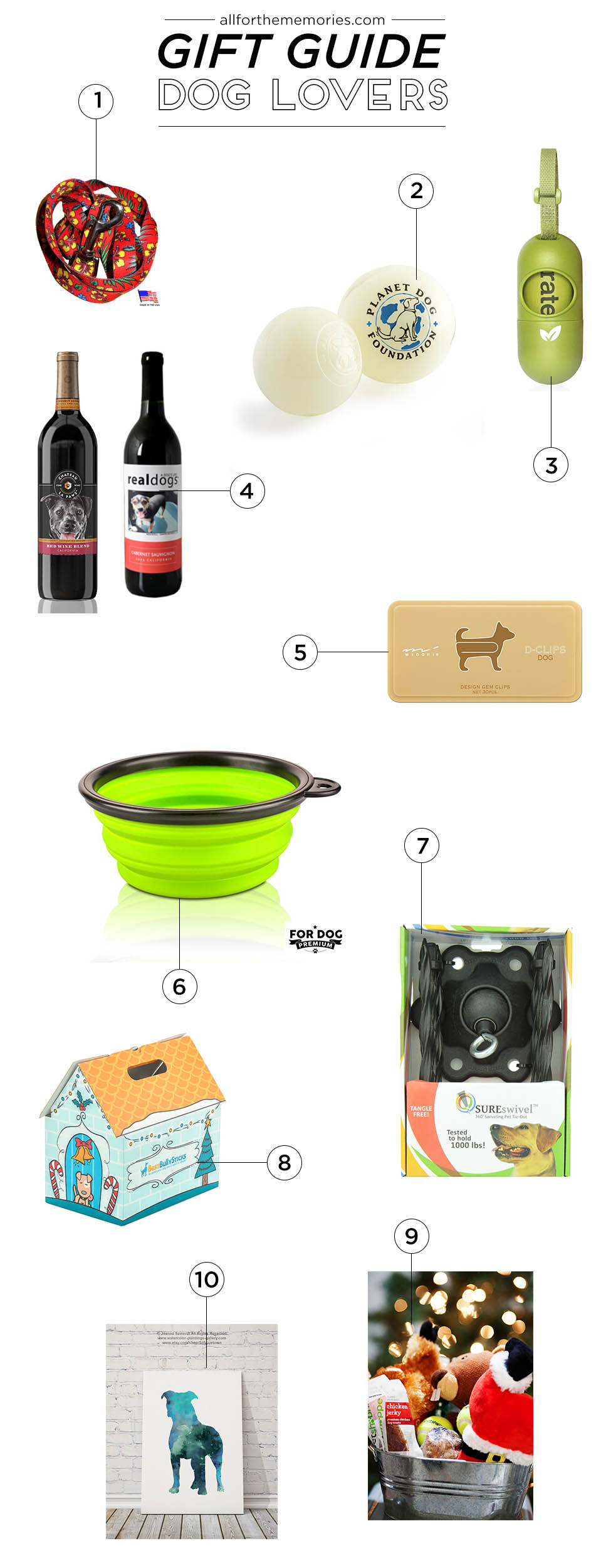 Gift Guide for Dogs and Dog Lovers