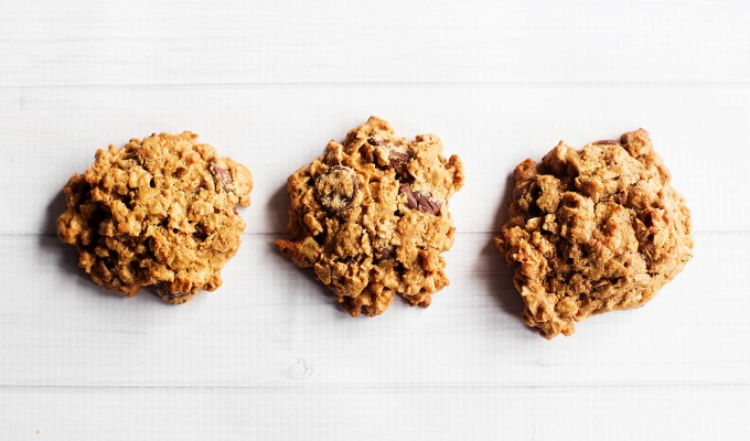 Flourless Gluten Free Oatmeal Cookies