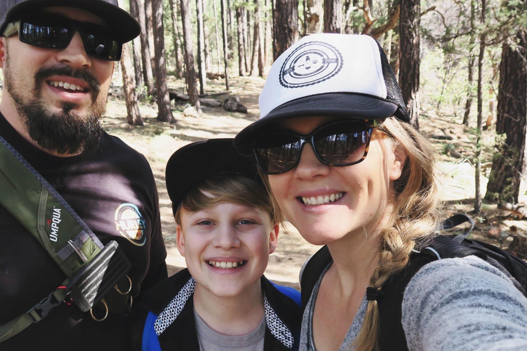 Day Trip to Payson, AZ Video + Scrapbook Page