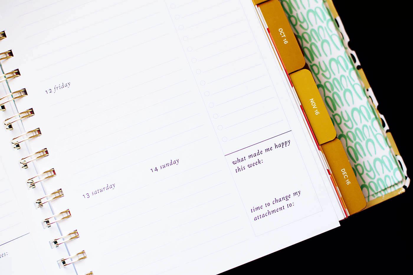 Coton Colors Agenda