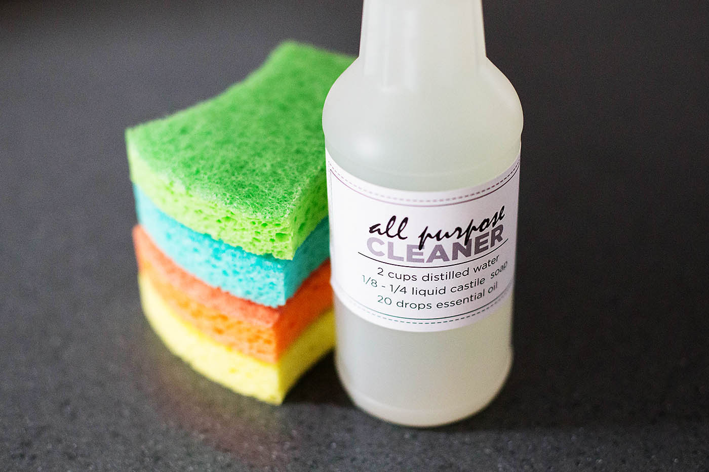 DIY All Purpose Cleaner with Printable Label