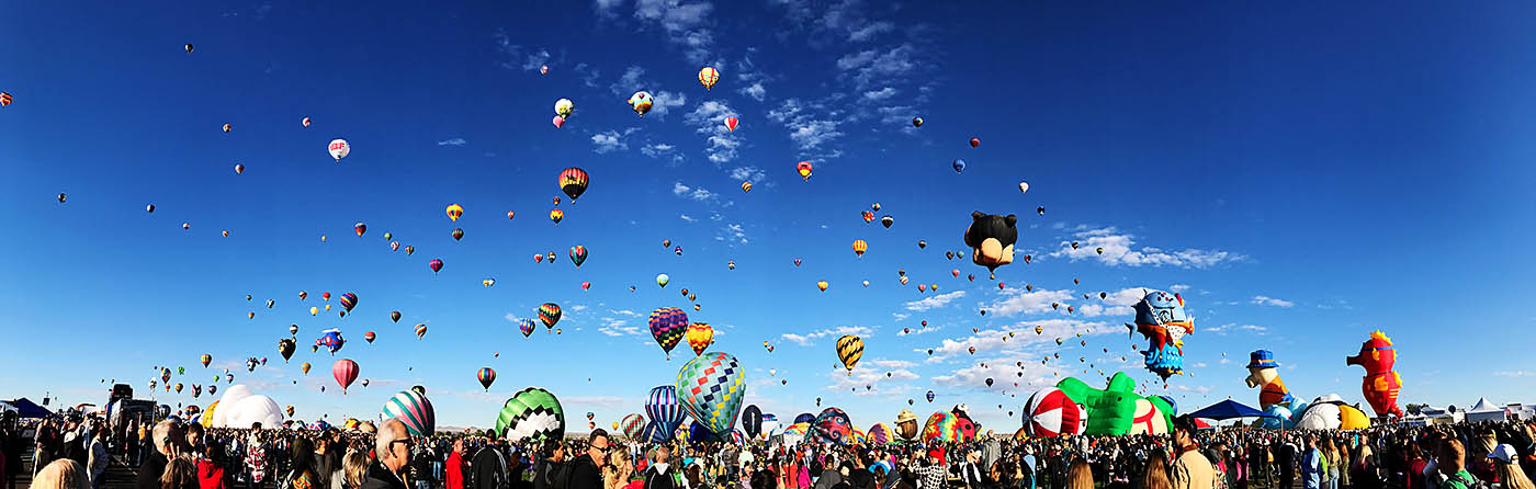 Albuquerque road trip to the International Balloon Fiesta