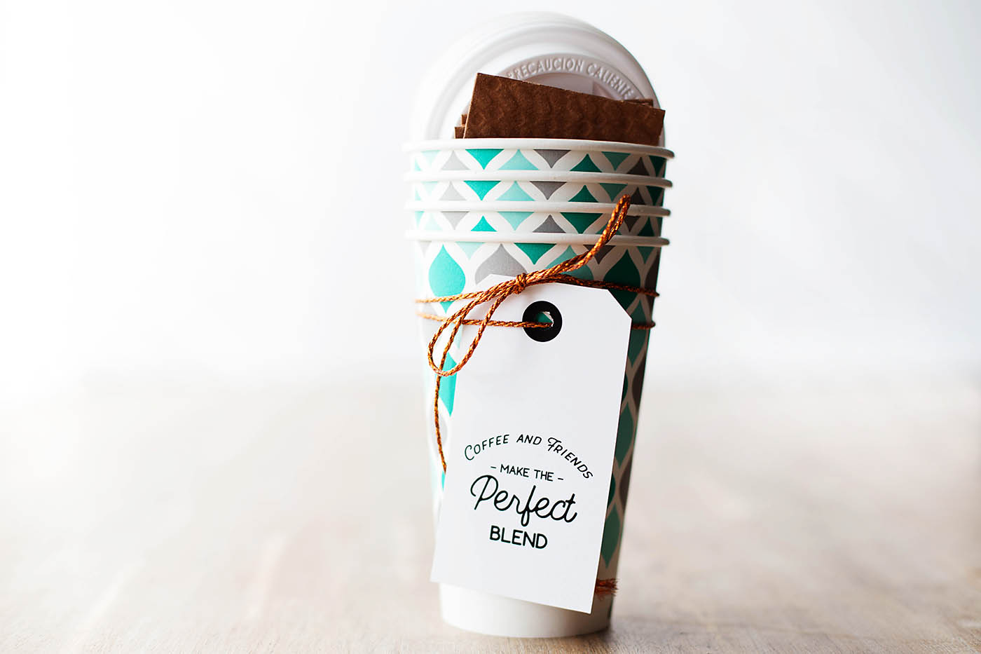 Printable Coffee Gift Tags
