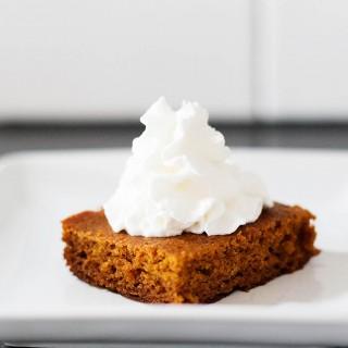 Simple gluten free pumpkin bars