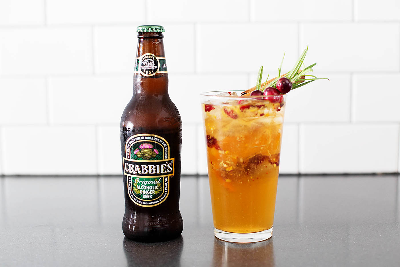 Dark & Crabbie's Holiday Drink Recipe