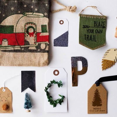 Semi-Homemade Gift Tags + 14 Ways to Use a Lint Roller