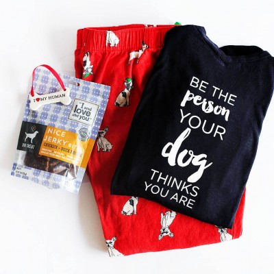 DIY Gift for Dog Lovers (and their dogs)
