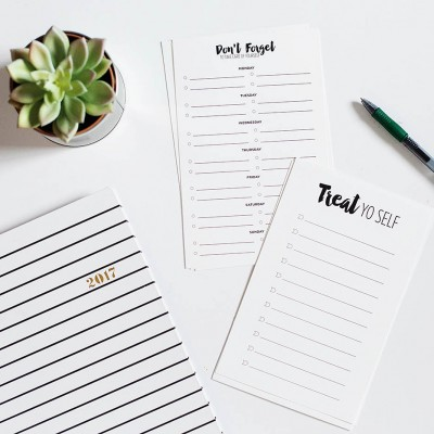 Take Care of Yourself: Printable Self Care To-Do Lists