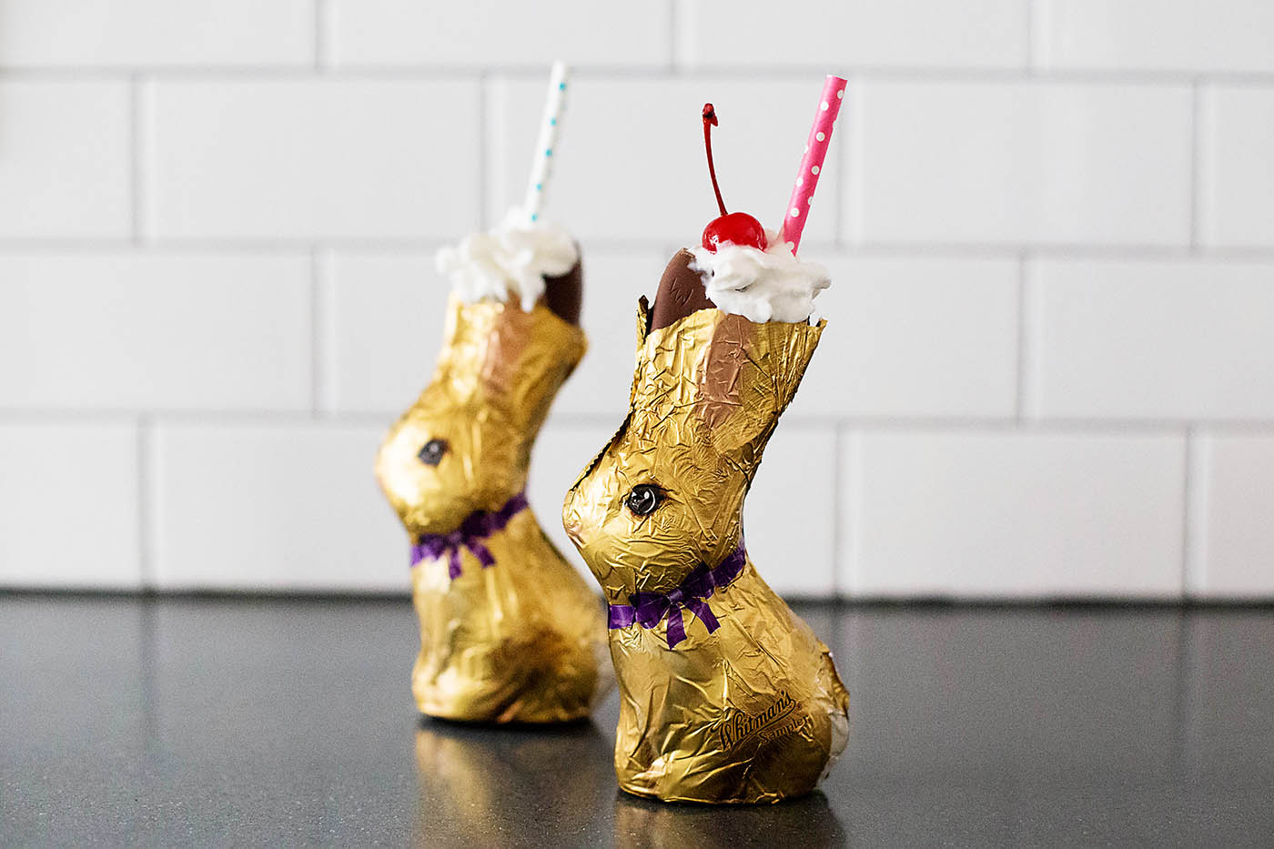 Chocolate Easter Bunny Shake