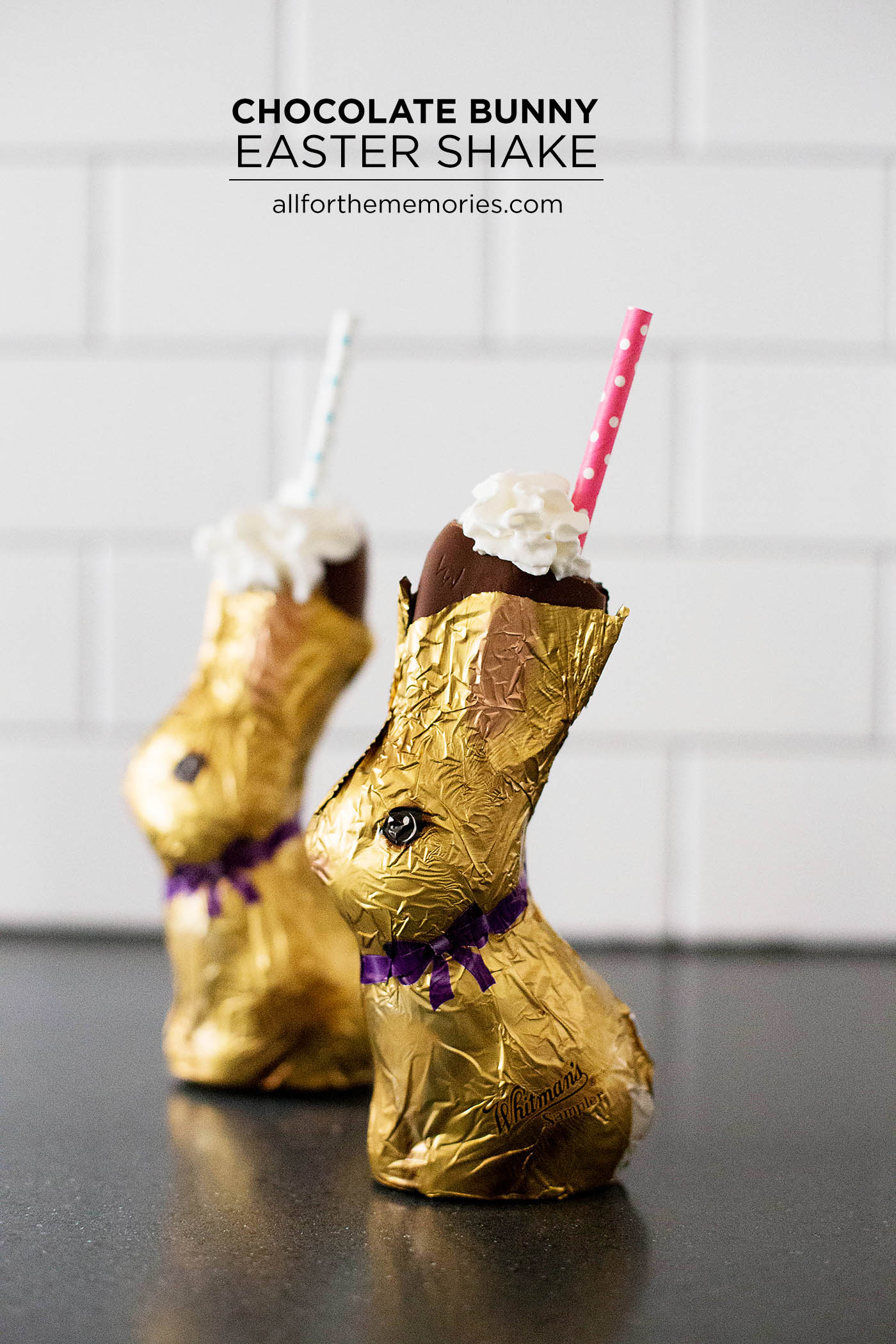 Chocolate Bunny Easter Shake