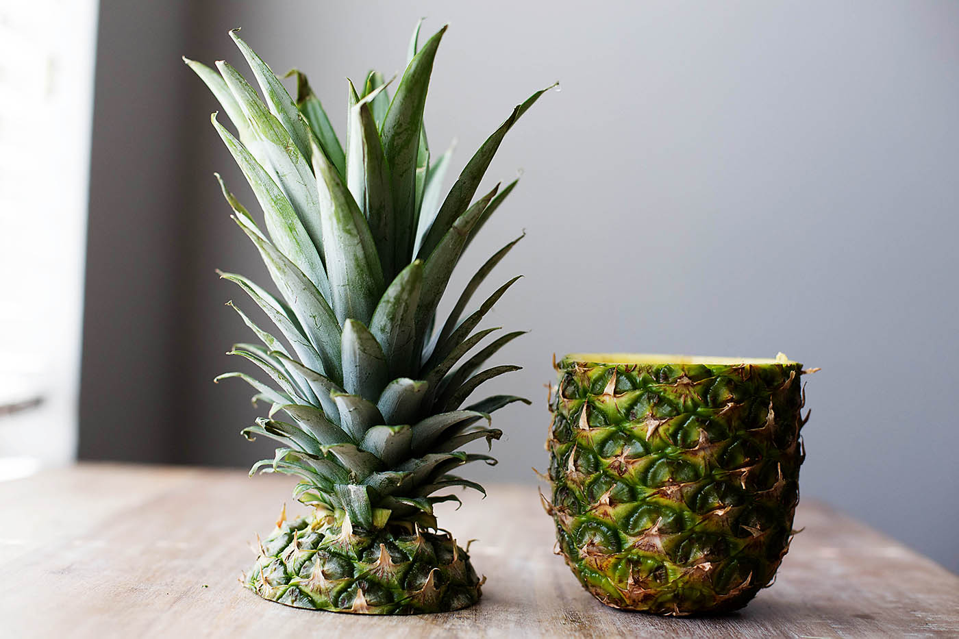 DIY Pineapple vase and chocolate covered pineapple for Mother's Day