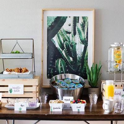 How to Host a Gluten & Dairy Free Waffle Bar