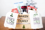 Christmas Eve Family Gift Basket + Cricut Cut Files