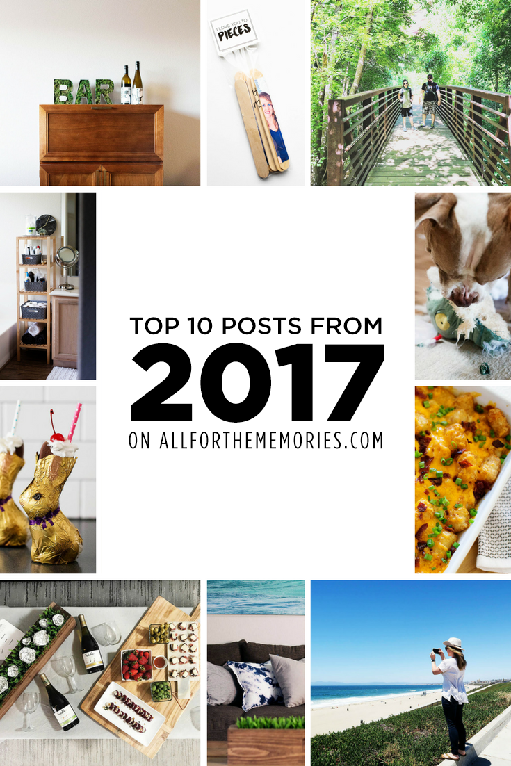 Top 10 posts from 2017 on allforthememories.com
