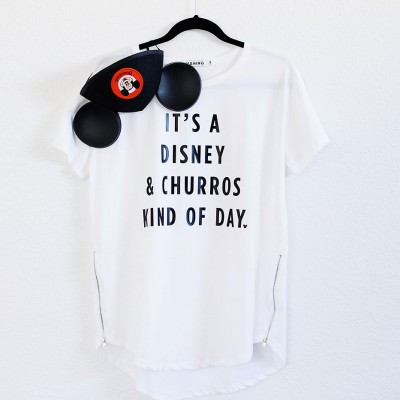 DIY Disney & Churros Tee